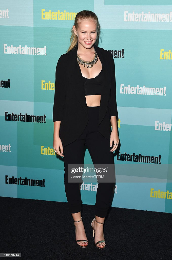 Actress Danika Yarosh attends Entertainment Weekly's Annual Comic-Con Party in celebration of Comic-Con 2015 at FLOAT at The Hard Rock Hotel on July 11, 2015 in San Diego, California.