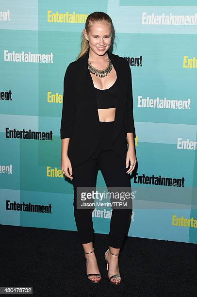 Actress Danika Yarosh attends Entertainment Weekly's Annual ComicCon Party in celebration of ComicCon 2015 at FLOAT at The Hard Rock Hotel on July 11...