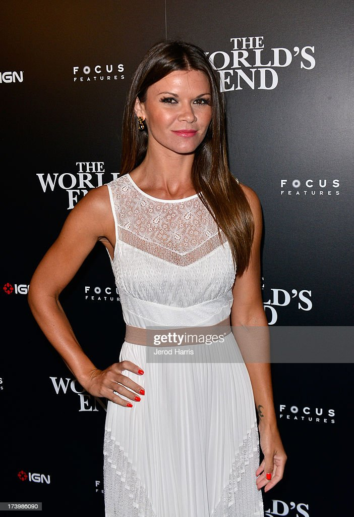 Actress Danille Vasinova attends IGN And Focus Features Comic-Con 2013 Party Presented By The World's End at Float at Hard Rock Hotel San Diego on July 18, 2013 in San Diego, California.