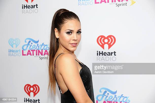 Actress Danna Paola attends iHeartRadio Fiesta Latina presented by Sprint at American Airlines Arena on November 7 2015 in Miami Florida
