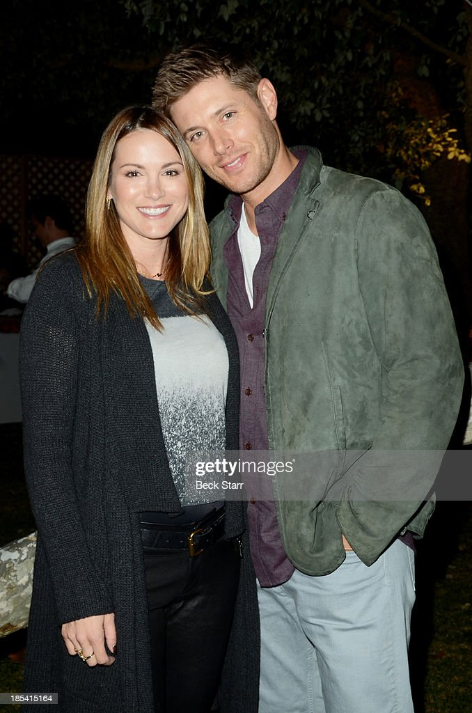Actress Danneel Ackles and actor <a gi-track='captionPersonalityLinkClicked' href=/galleries/search?phrase=Jensen+Ackles&family=editorial&specificpeople=631161 ng-click='$event.stopPropagation()'>Jensen Ackles</a> arrive at the Malibu Boys And Girls Club Fundraiser to introduce the 2013 BGCM Youth of the Year on October 19, 2013 in Malibu, California.
