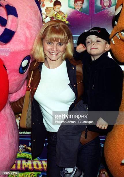 Actress Danniella Morgan at the premiere for the kids film Digimon The Movie at Planet Hollywood in London's West End * 29/3/01 Danniella Westbrook...