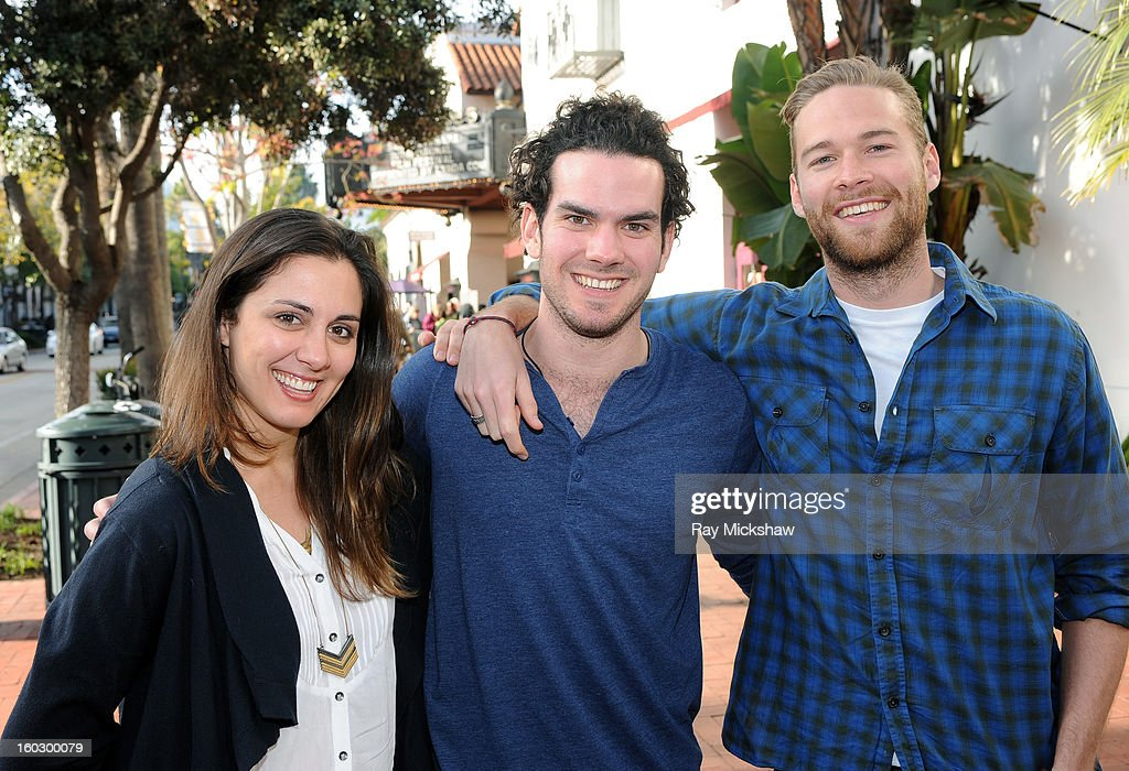 Actress Dannikke Walker, director Brandon Willer and actor Paul Haapaniemi of the film 'The Racket Boys' attends the 28th Santa Barbara International Film Festival on January 28, 2013 in Santa Barbara, California.