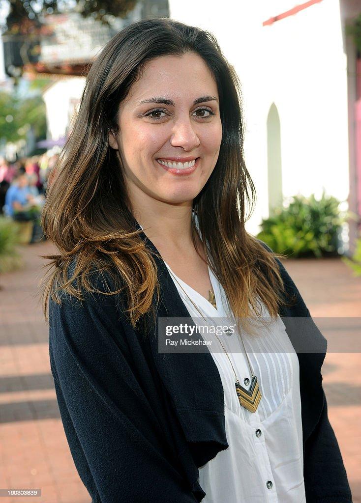 Actress Dannikke Walker of the film 'The Racket Boys' attends the 28th Santa Barbara International Film Festival on January 28, 2013 in Santa Barbara, California.