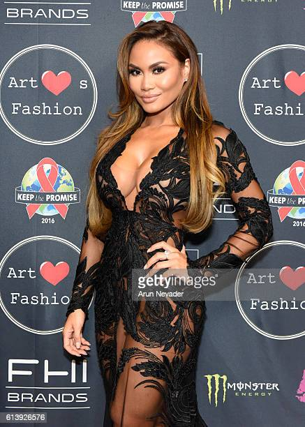 Actress Daphne Joy attends Art Hearts Fashion Los Angeles Fashion Week Day 2 on October 10 2016 in Los Angeles California