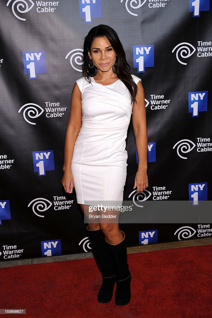 Actress Daphne Rubin-Vega attends the NY1 20th Anniversary party, in celebration of two decades of the New York City news channel at New York Public Library on October 11, 2012 in New York City.