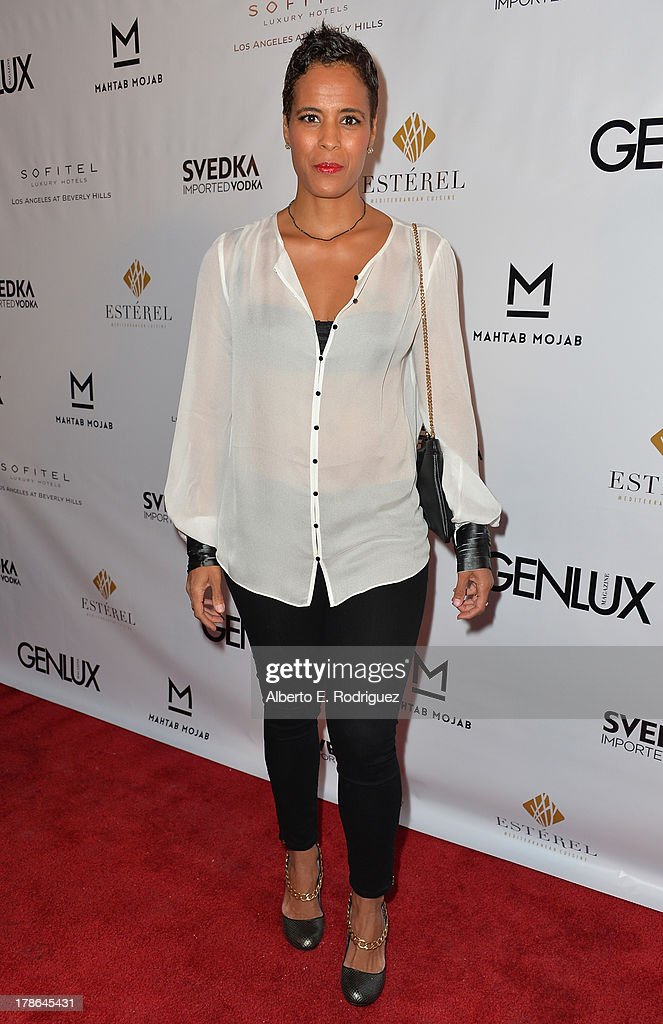 Actress Daphne Wayans arrives to Genlux Magazine's Issue Release party featuring Erika Christensen at The Sofitel Hotel on August 29, 2013 in Los Angeles, California.