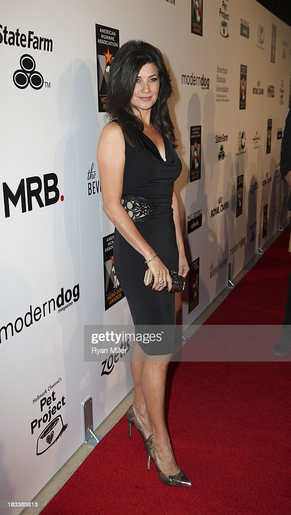 Actress Daphne Zuniga arrives during the American Humane Association Hero Dog Awards 2013 held at the Beverly Hilton Hotel on Saturday, Oct. 5, 2013, in Beverly Hills, California.