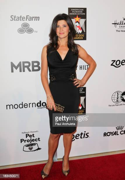 Actress Daphne Zuniga attends the 3rd annual American Humane Association Hero Dog Awards at The Beverly Hilton Hotel on October 5 2013 in Beverly...