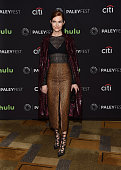 Actress Darby Stanchfield arrives at The Paley Center For Media's 33rd Annual PaleyFest Los Angeles presentation of 'Scandal' at the Dolby Theatre on...