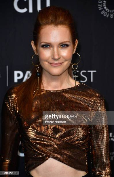 Actress Darby Stanchfield arrives at the screening and panel for 'Scandal' at The Paley Center For Media's 34th Annual PaleyFest Los Angeles at Dolby...