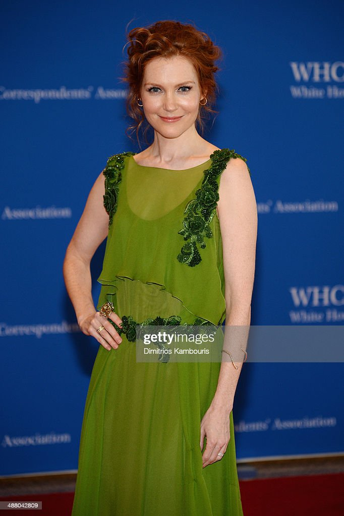 Actress Darby Stanchfield attends the 100th Annual White House Correspondents' Association Dinner at the Washington Hilton on May 3, 2014 in Washington, DC.