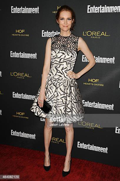 Actress Darby Stanchfield attends the 2014 Entertainment Weekly preEmmy party at Fig Olive Melrose Place on August 23 2014 in West Hollywood...