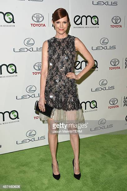 Actress Darby Stanchfield attends the 24th Annual Environmental Media Awards presented by Toyota and Lexus at Warner Bros Studio on October 18 2014...
