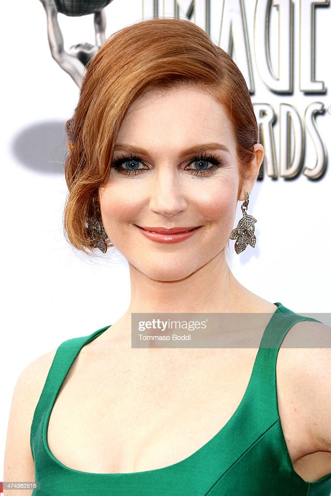 Actress Darby Stanchfield attends the 45th NAACP Image Awards held at the Pasadena Civic Auditorium on February 22, 2014 in Pasadena, California.