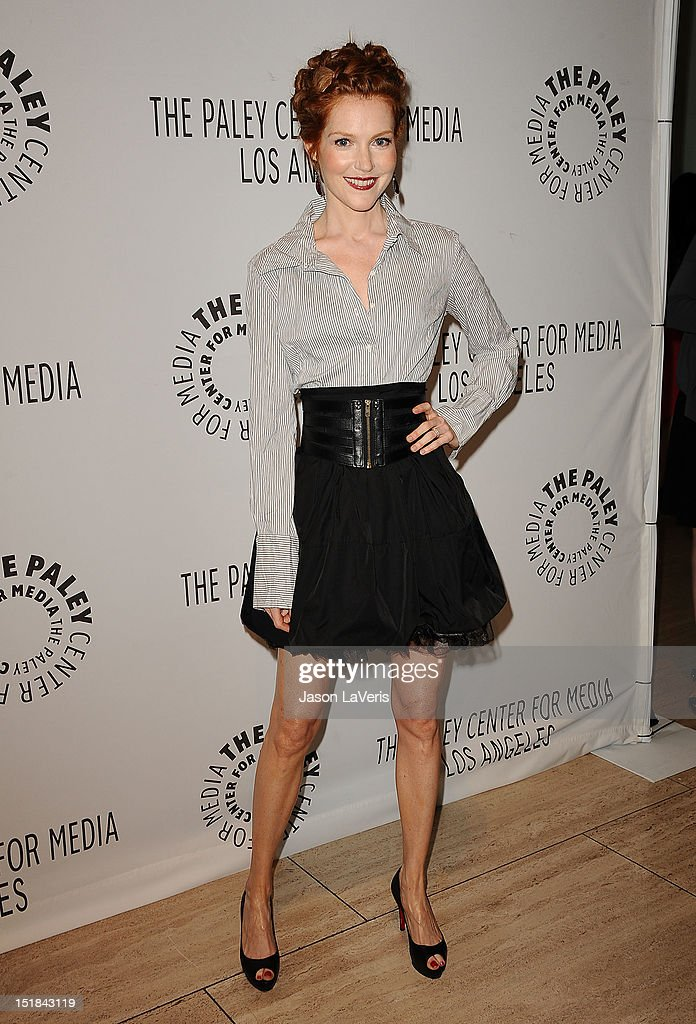 Actress Darby Stanchfield attends the ABC fall preview party at The Paley Center for Media on September 11, 2012 in Beverly Hills, California.