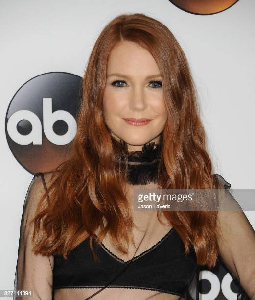 Actress Darby Stanchfield attends the Disney ABC Television Group TCA summer press tour at The Beverly Hilton Hotel on August 6 2017 in Beverly Hills...