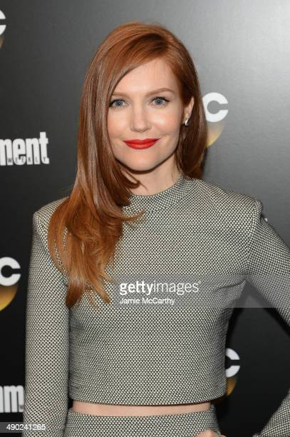 Actress Darby Stanchfield attends the Entertainment Weekly ABC Upfronts Party at Toro on May 13 2014 in New York City