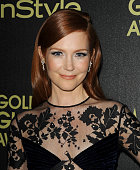 Actress Darby Stanchfield attends the Hollywood Foreign Press Association and InStyle's celebration of the 2015 Golden Globe award season at Fig...