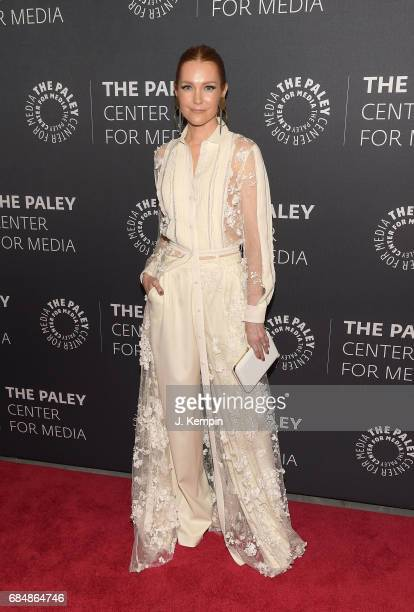 Actress Darby Stanchfield attends The Paley Center For Media Presents The Ultimate 'Scandal' Watch Party at The Paley Center for Media on May 18 2017...