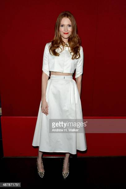 Actress Darby Stanchfield attends the White House Correspondents' Dinner Weekend PreParty hosted by The New Yorker's David Remnick at the W Hotel...