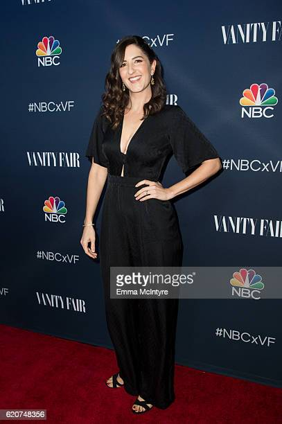 Actress D'arcy Carden arrives at 'NBC and Vanity Fair toast the 20162017 TV Season' at NeueHouse Hollywood on November 2 2016 in Los Angeles...