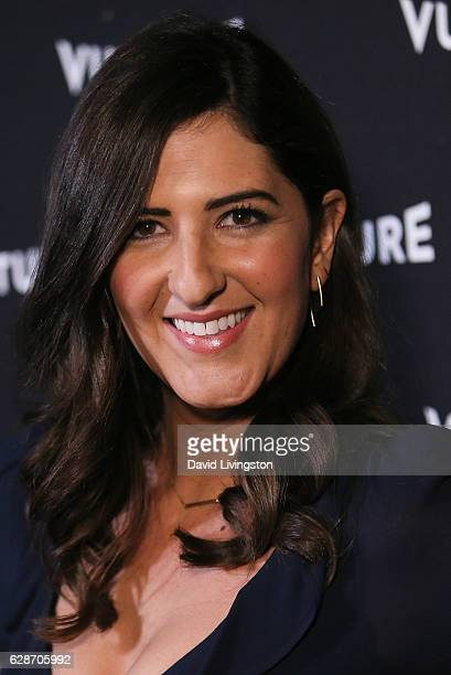Actress D'Arcy Carden arrives at the Vulture Awards Season Party at the Sunset Tower Hotel on December 8 2016 in West Hollywood California