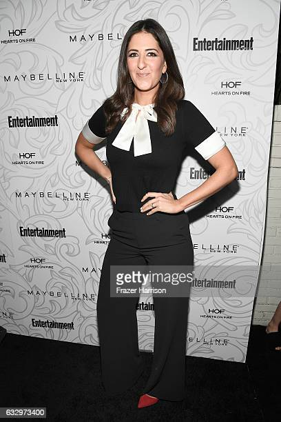 Actress D'Arcy Carden attends the Entertainment Weekly Celebration of SAG Award Nominees sponsored by Maybelline New York at Chateau Marmont on...