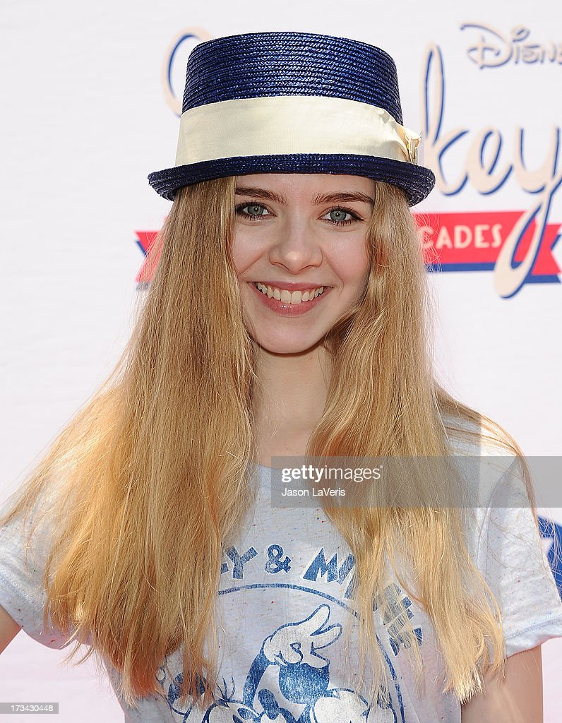 Actress Darcy Rose Byrnes attends the 'Mickey Through The Decades' collection celebration at Walt Disney Studios on July 13, 2013 in Burbank, California.