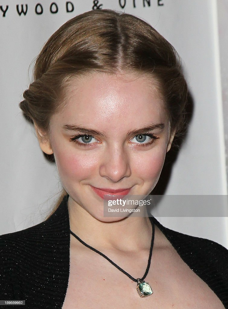 Actress Darcy Rose Byrnes attends the opening night of 'Peter Pan' at the Pantages Theatre on January 15, 2013 in Hollywood, California.
