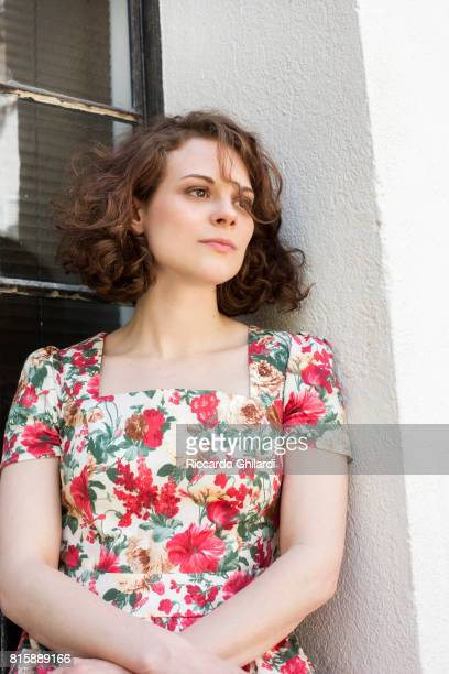 Actress Darya Zhovner is photographed for Self Assignment on May 24 2017 in Cannes France