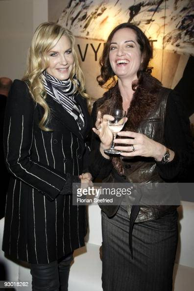 Actress Daryl Hannah and actress Natalia Woerner attend the 'Navyboot' flagship store opening at Friedrichstreet 81 on November 12 2009 in Berlin...