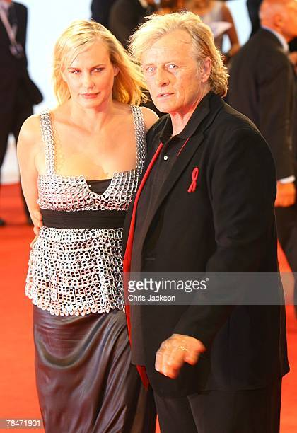 Actress Daryl Hannah and Director Ridley Scott attends the Blade Runner premiere in Venice during day 4 of the 64th Venice Film Festival on September...
