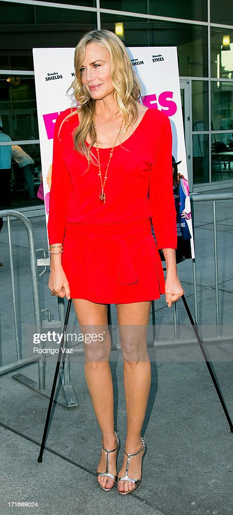 Actress Daryl Hannah arrives at 'The Hot Flashes' Los Angeles premiere at ArcLight Cinemas on June 27, 2013 in Hollywood, California.