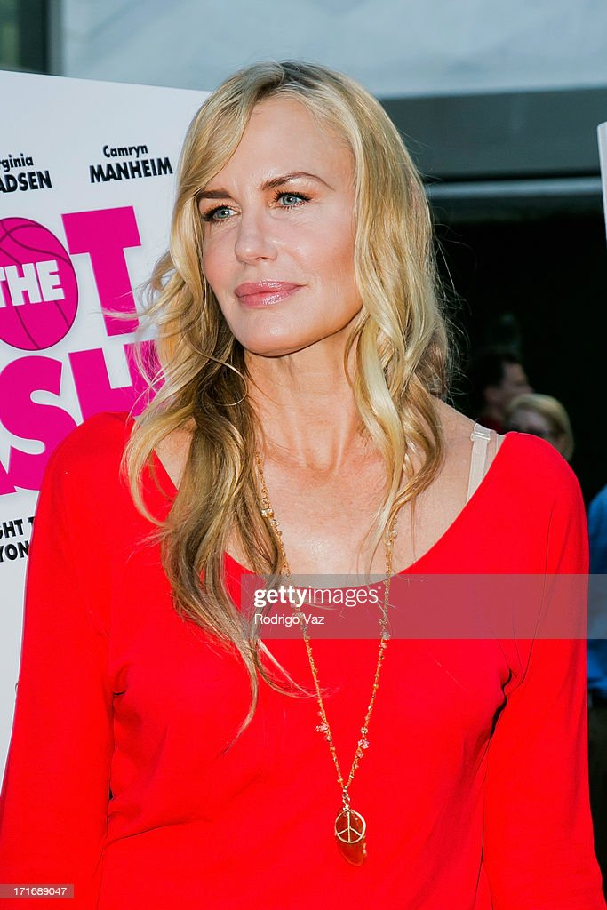 Actress <a gi-track='captionPersonalityLinkClicked' href=/galleries/search?phrase=Daryl+Hannah&family=editorial&specificpeople=201860 ng-click='$event.stopPropagation()'>Daryl Hannah</a> arrives at 'The Hot Flashes' Los Angeles premiere at ArcLight Cinemas on June 27, 2013 in Hollywood, California.