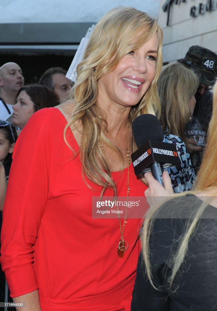 Actress Daryl Hannah arrives at the premiere of 'The Hot Flashes' at ArcLight Cinemas on June 27, 2013 in Hollywood, California.