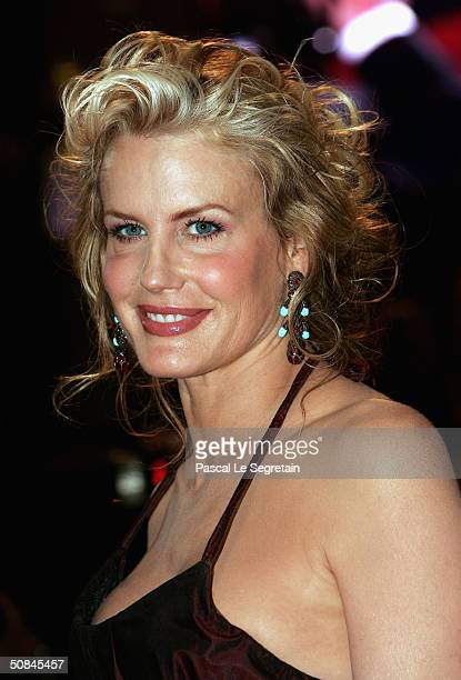 Actress Daryl Hannah arrives to the premiere of 'Kill Bill II' at the Palais des Festivals during the 57th Annual International Cannes Film Festival...