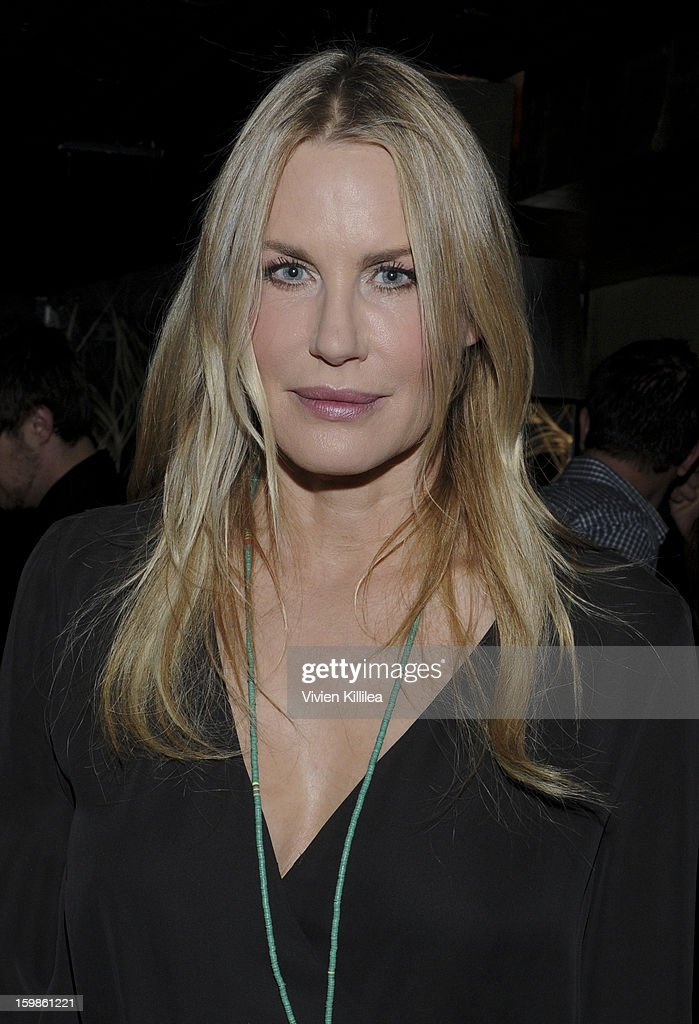 Actress Daryl Hannah attends Focus Forward - Short Films Big Ideas Dinner - 2013 Park City on January 21, 2013 in Park City, Utah.