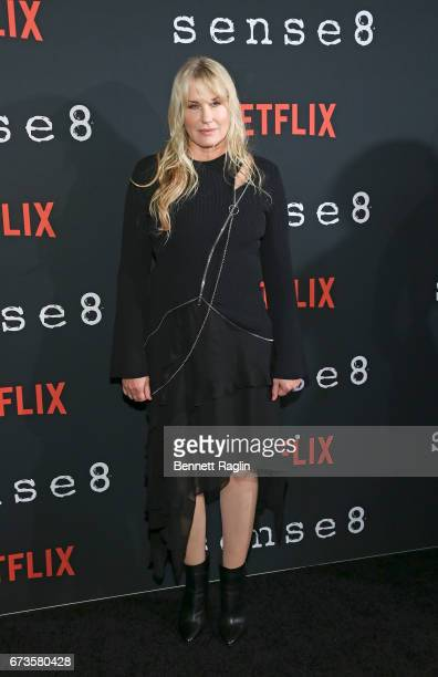 Actress Daryl Hannah attends the 'Sense8' New York premiere at AMC Lincoln Square Theater on April 26 2017 in New York City