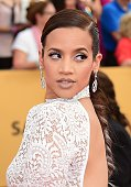 Actress Dascha Polanco arrives for the 21st Annual Screen Actors Guild Awards January 25 2015 at the Shrine Auditorium in Los Angeles California AFP...
