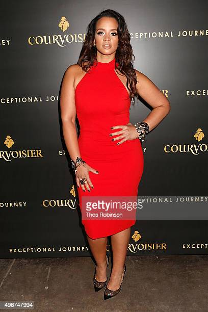Actress Dascha Polanco attends Courvoisier Cognac's Exceptional Journey Campaign Celebration on November 11 2015 in New York City