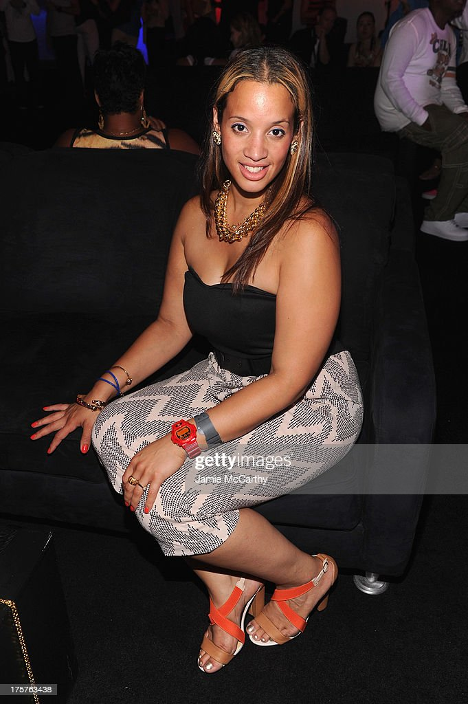 Actress Dascha Polanco attends G-Shock Shock The World 2013 at Basketball City on August 7, 2013 in New York City.