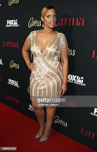 Actress Dascha Polanco attends Latina Magazine's 'Hollywood Hot List' Party at Sunset Tower on October 2 2014 in West Hollywood California