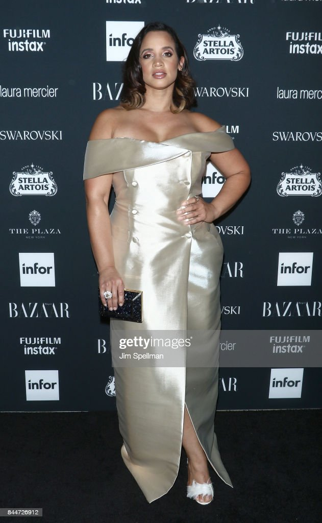 Actress Dascha Polanco attends the 2017 Harper's Bazaar Icons at The Plaza Hotel on September 8, 2017 in New York City.