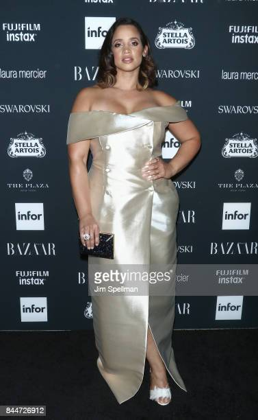 Actress Dascha Polanco attends the 2017 Harper's Bazaar Icons at The Plaza Hotel on September 8 2017 in New York City