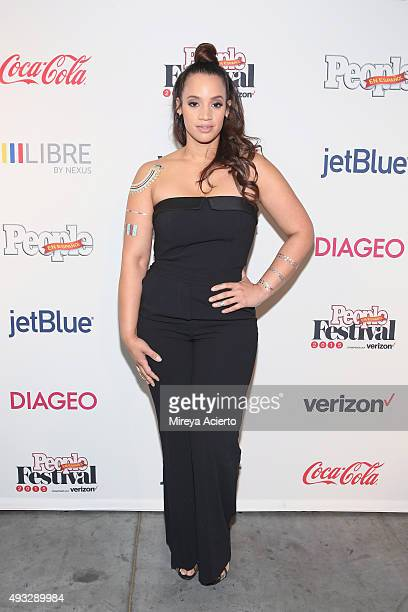 Actress Dascha Polanco attends the 4th Annual People en Espanol Festival at Jacob Javitz Center on October 18 2015 in New York City