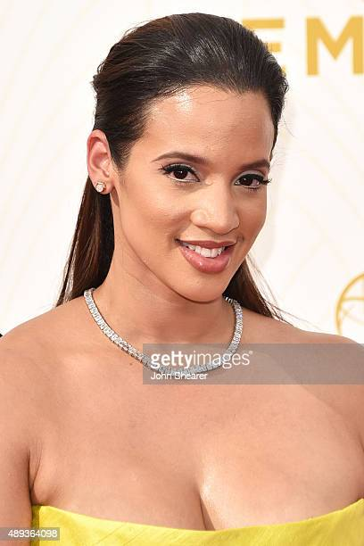 Actress Dascha Polanco attends the 67th Annual Primetime Emmy Awards at Microsoft Theater on September 20 2015 in Los Angeles California