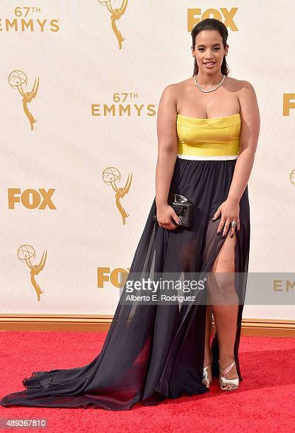 Actress Dascha Polanco attends the 67th Emmy Awards at Microsoft Theater on September 20 2015 in Los Angeles California 25720_001