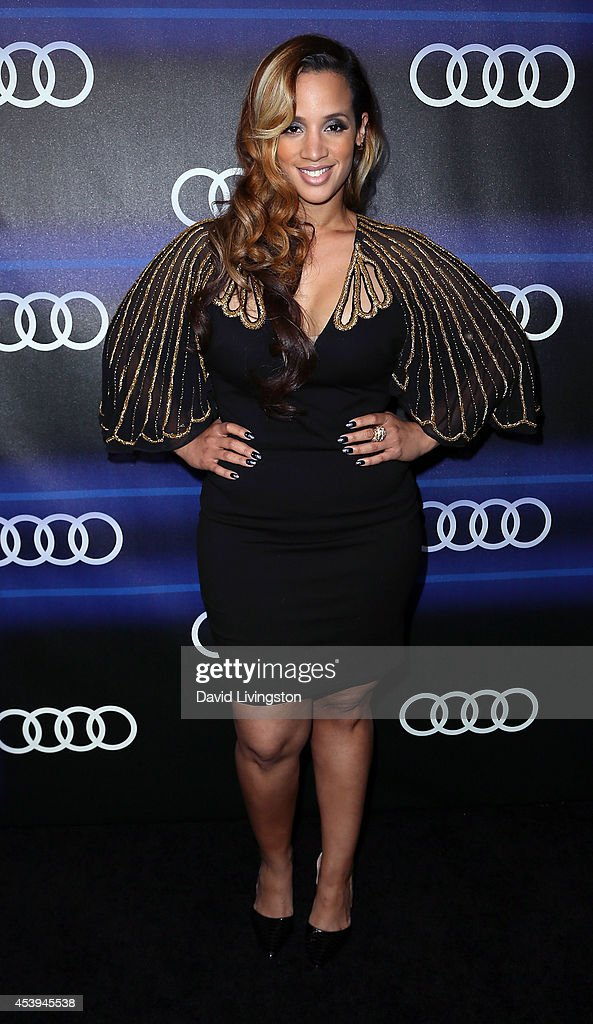 Actress <a gi-track='captionPersonalityLinkClicked' href=/galleries/search?phrase=Dascha+Polanco&family=editorial&specificpeople=11068335 ng-click='$event.stopPropagation()'>Dascha Polanco</a> attends the Audi celebration of Emmys Week 2014 at Cecconi's Restaurant on August 21, 2014 in Los Angeles, California.