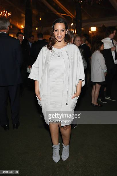 Actress Dascha Polanco attends The Glenholme School Annual New York City Event at Bryant Park Grill on October 21 2015 in New York City